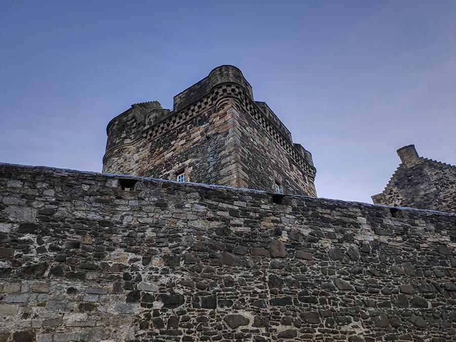 szkocja zamki zwiedzanie blackness castle
