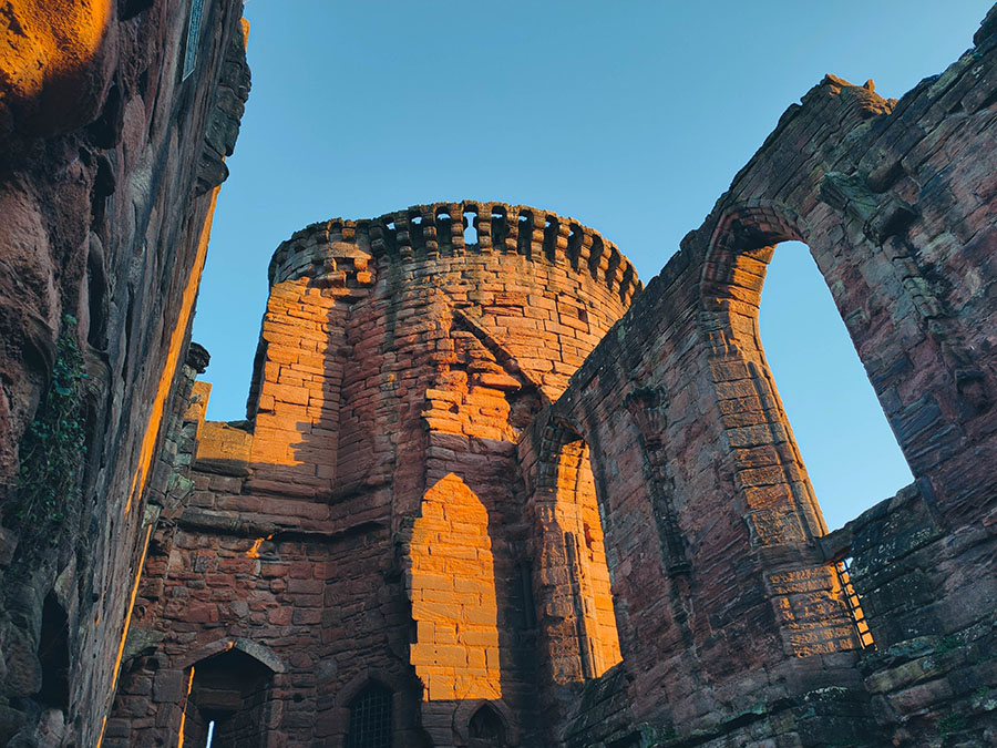 bothwell castle zamki w okolicach glasgow