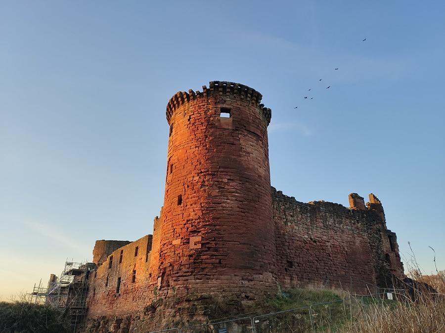 bothwell castle szkocja