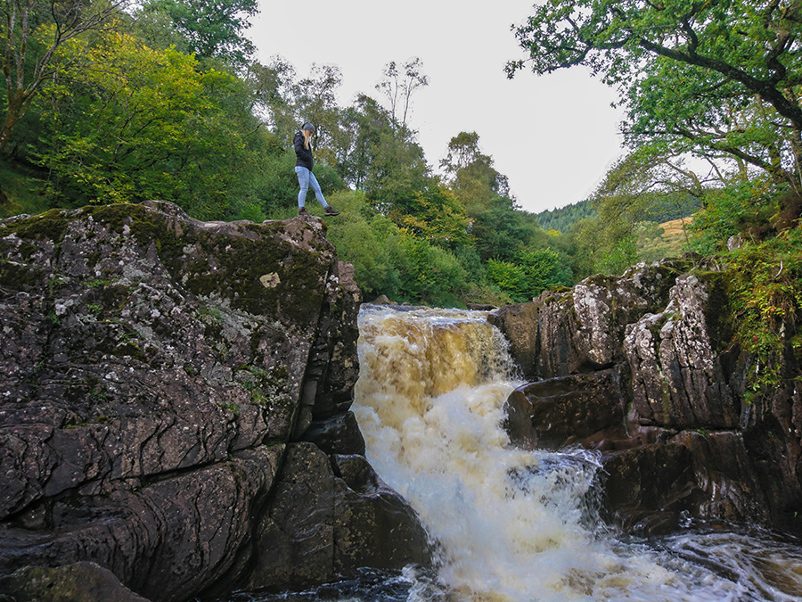 bracklinn falls callander szkocja