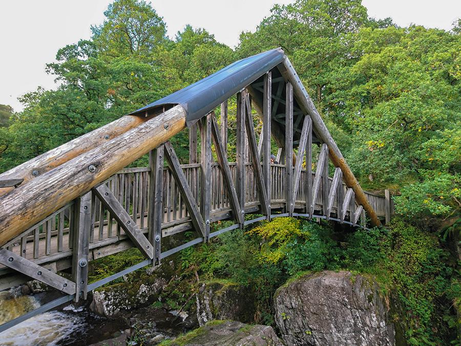 bracklinn falls bridge szkocja