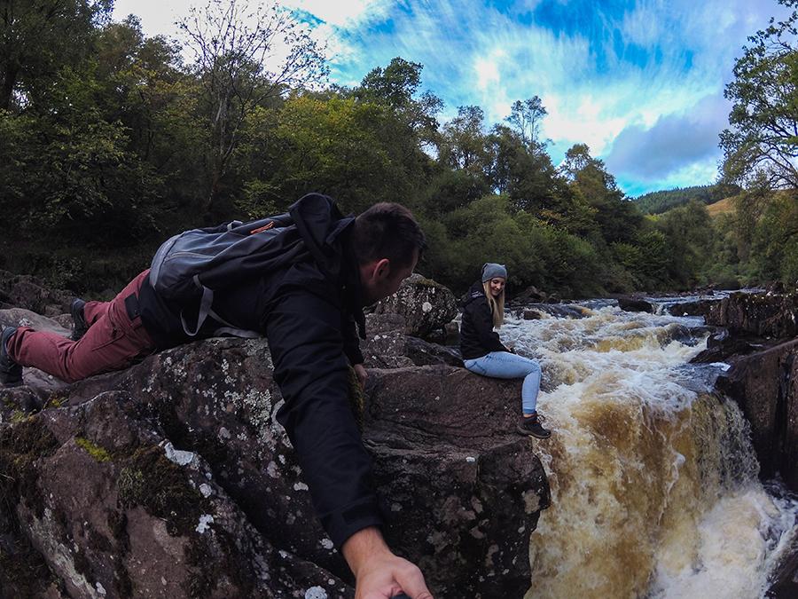 bracklinn falls szkocja