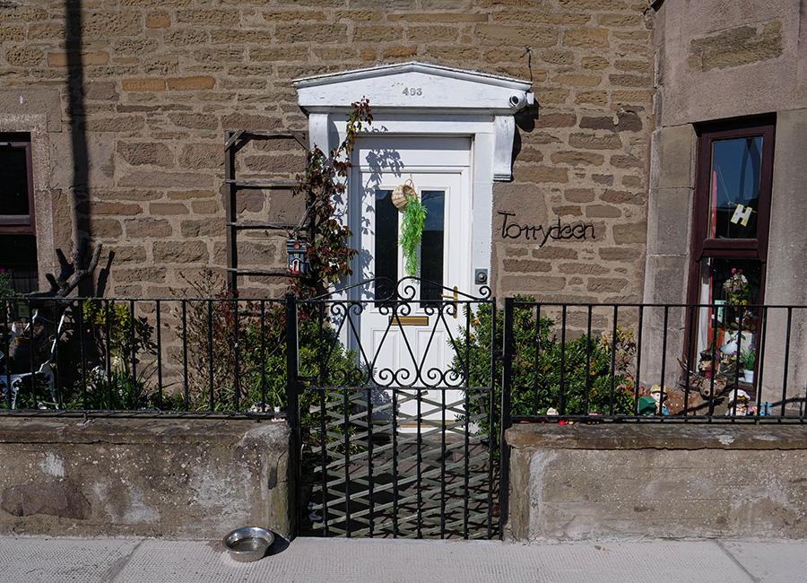 Broughty - malownicza wioska w Szkocji