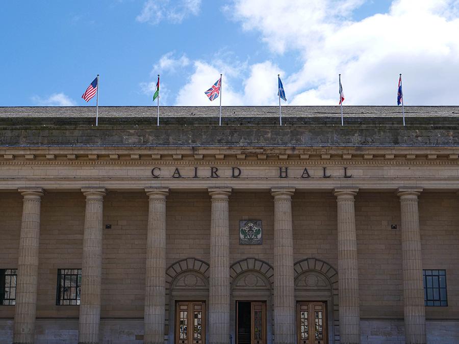 The Caird Hall atrakcje w dundee