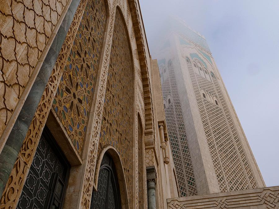 casablanca zwiedzanie meczet hassana II