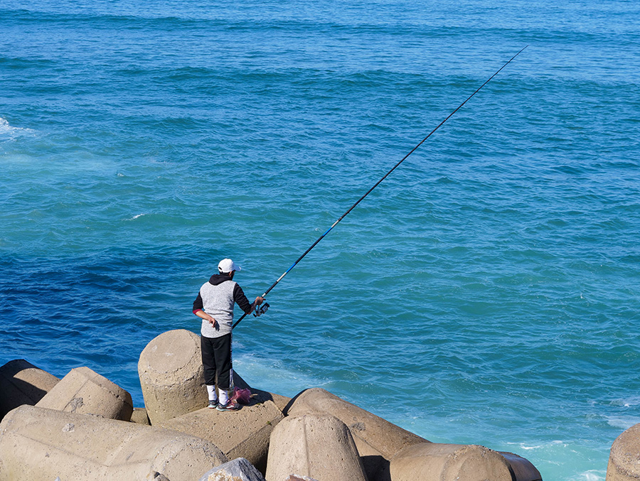 lokalni mieszkańcy rybacy casablanca