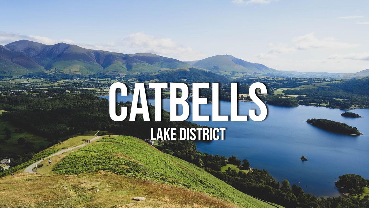 catbells lake district wpinaczka wędrówka anglia