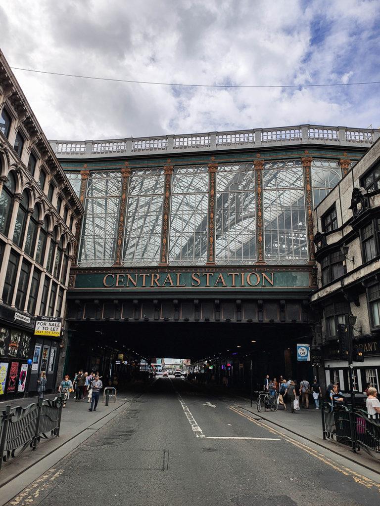glasgow atrakcje central station