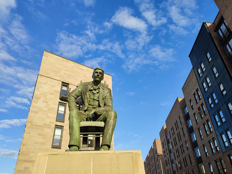 Charles Rennie Mackintosh - pomnik architekta
