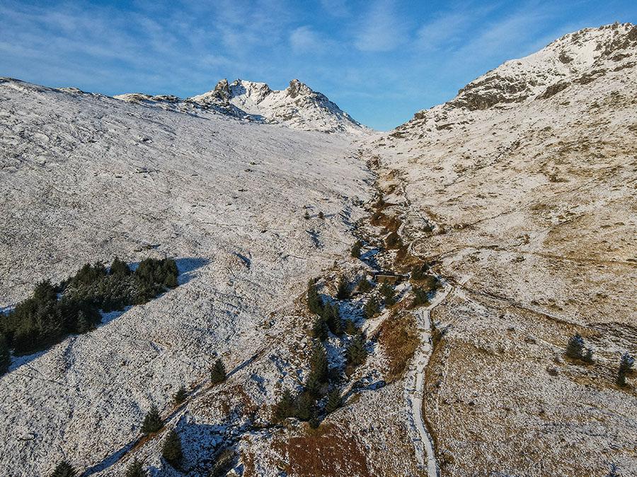 The Cobbler - Loch Long i Alpy Arrochar góry w Szkocji