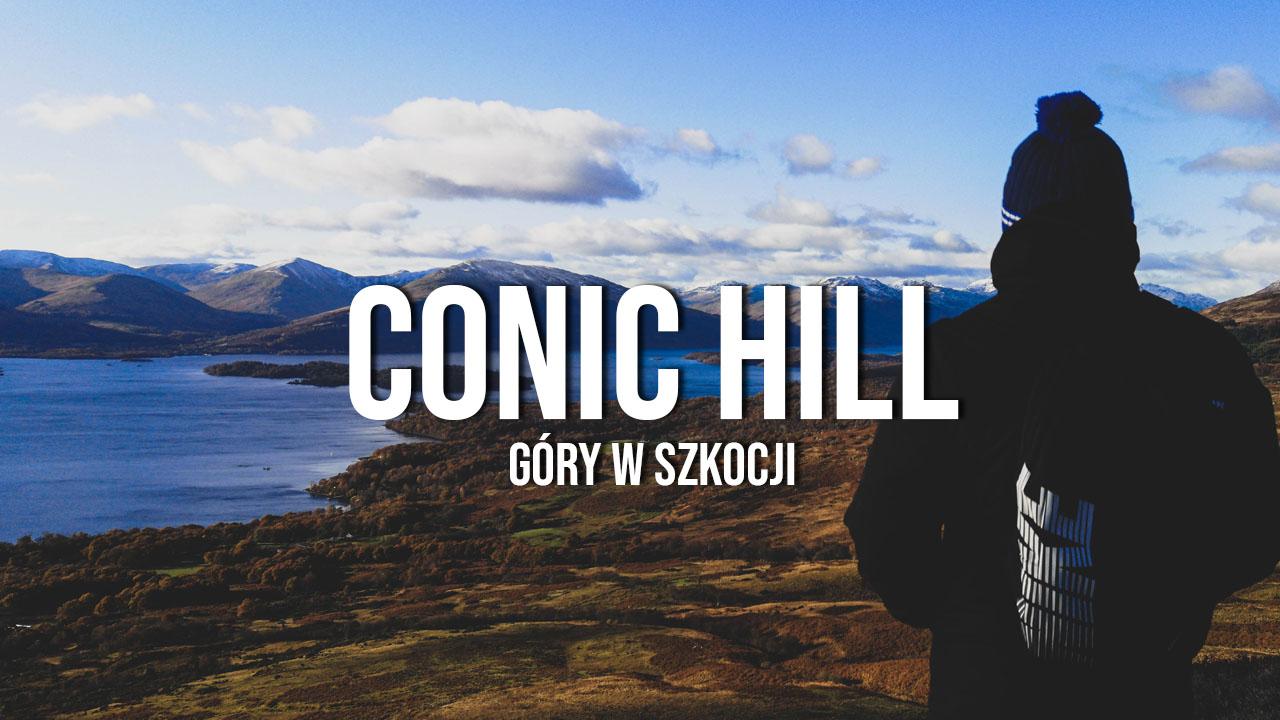 Conic Hill, Loch Lomond - wspinaczka, góry w Szkocji
