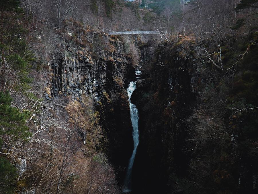 Corrieshalloch Gorge atrakcje North Coast 500