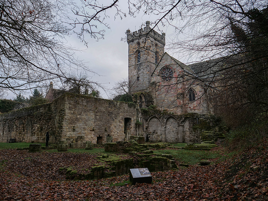atrakcje w culross opactwo i klasztor
