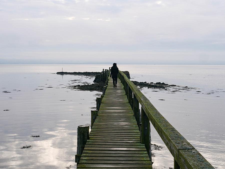 Atrakcje w Culross - co ciekawego warto zobaczyć? plaża i most