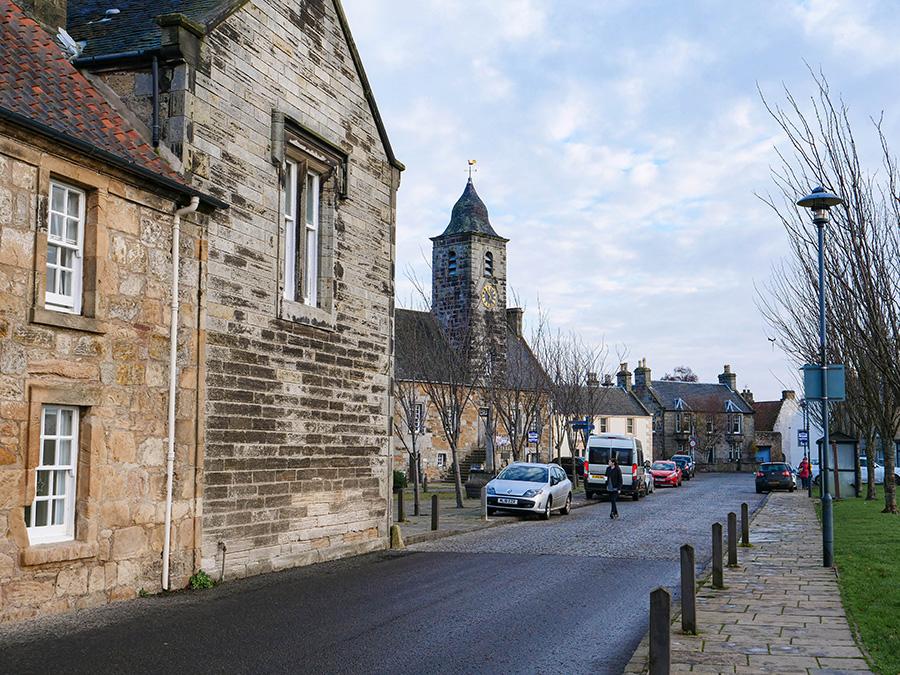 Atrakcje w Culross - co ciekawego warto zobaczyć? town hall