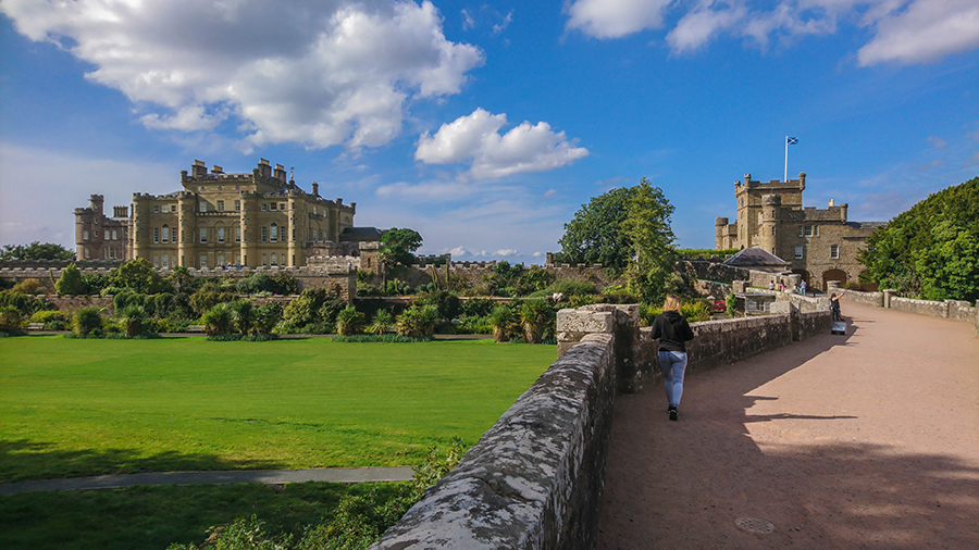 zamek culzean szkocja
