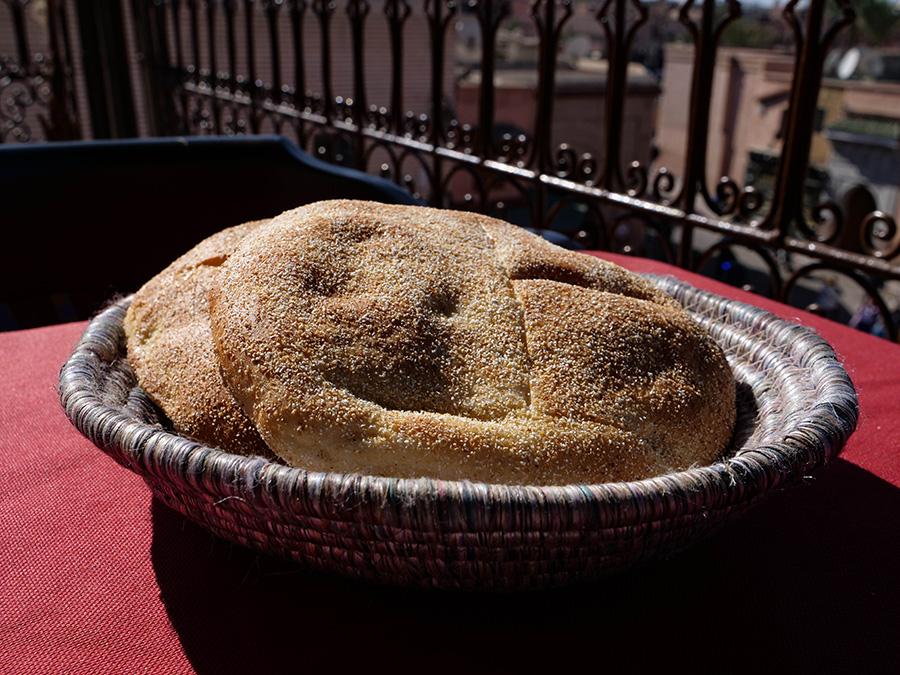 dania kuchni marokańskiej chleb marokański