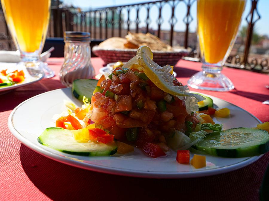 dania kuchni marokańskiej sałatka marokańska