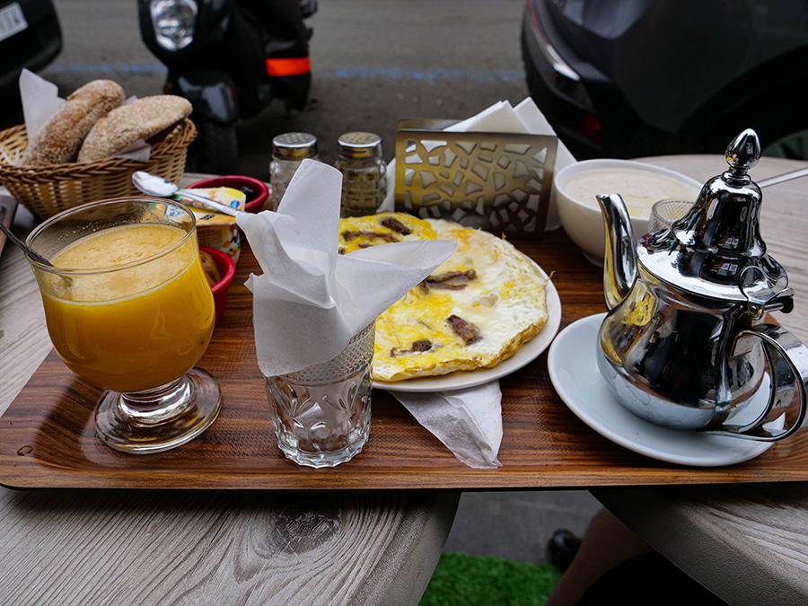 dania kuchni marokańskiej omlety