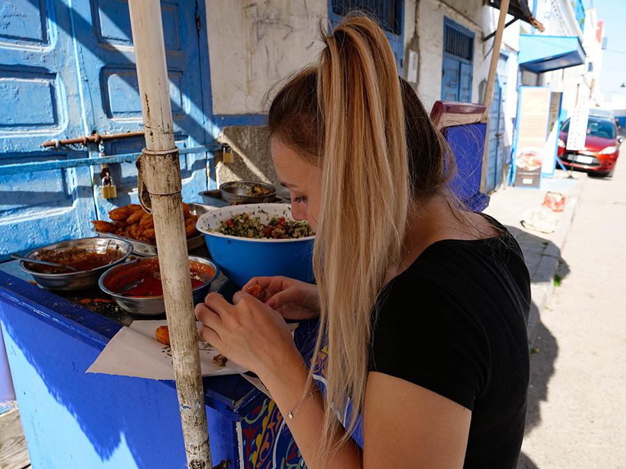 dania kuchni marokańskiej smażone rybki