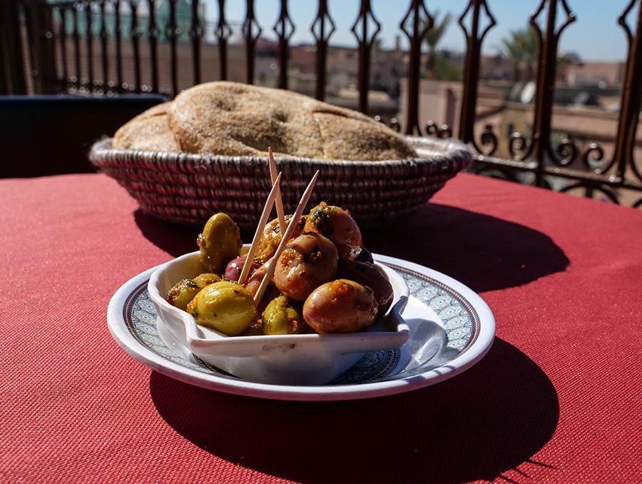 dania kuchni marokańskiej oliwki