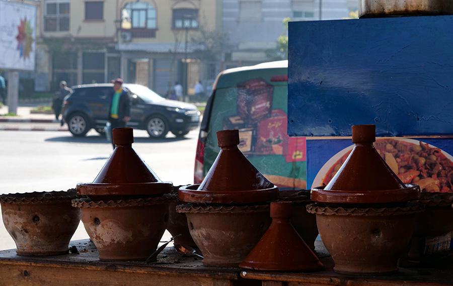 dania kuchni marokańskiej tadżin z mięsem