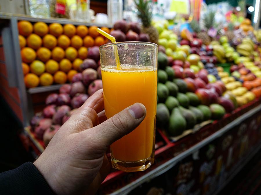 dania kuchni marokańskiej świeży sok pomarańczowy