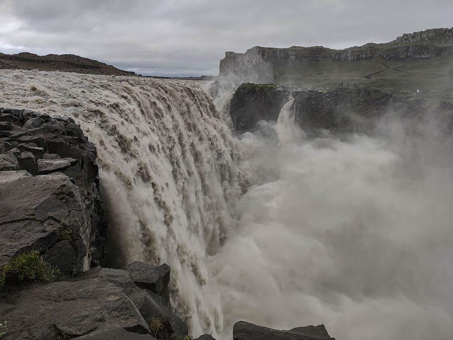 dettifoss wodospad islandia