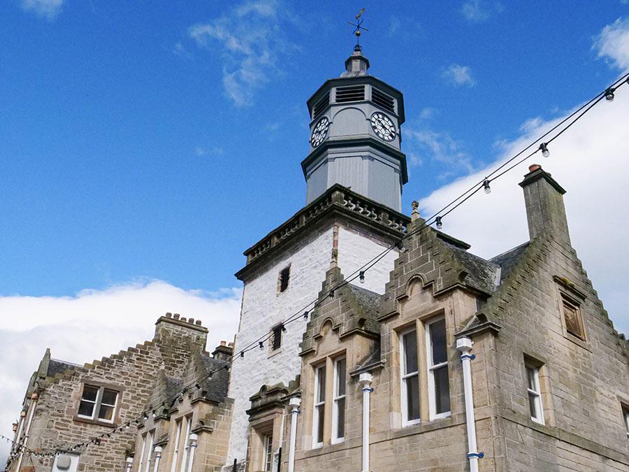 dingwall miasteczko portowe w Szkocji