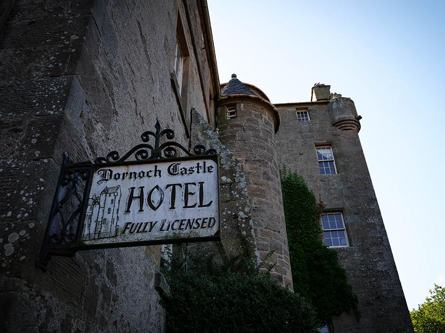 nocleg w szkockim zamku north coast 500