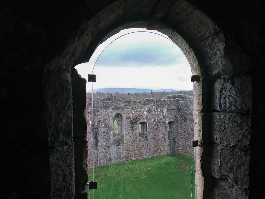 Doune Castle - zamek z serialu Outlander i Gra o Tron