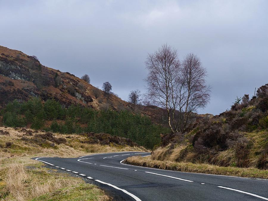Duke's Pass - droga widokowa w Szkocji
