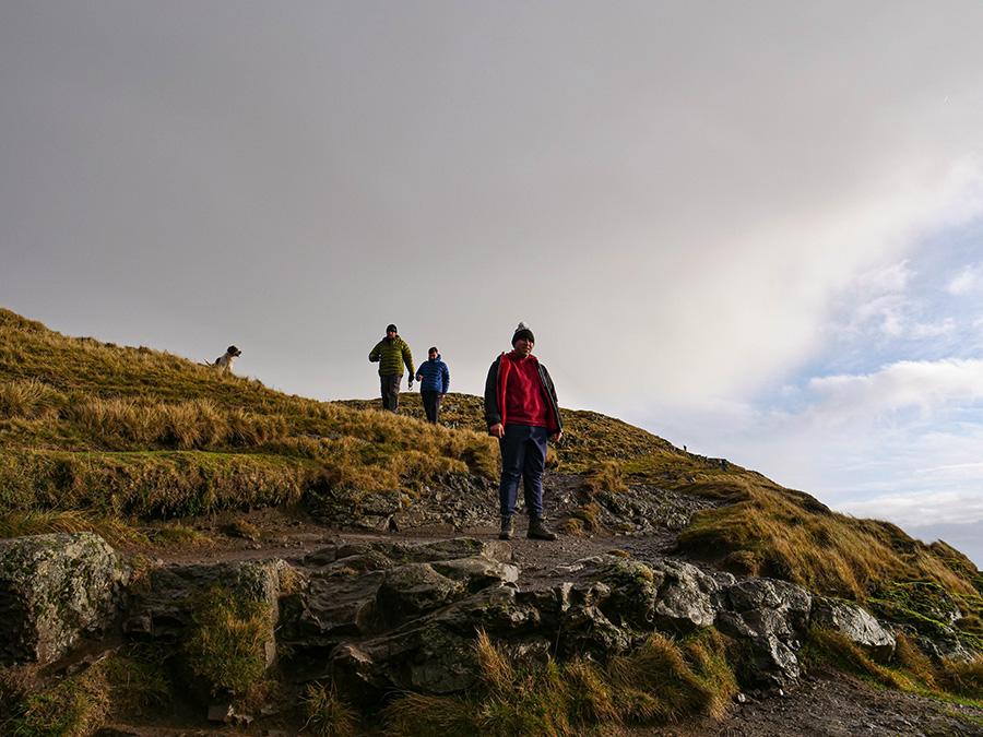 Wzgóza Ochills Szkocja - góry w okolicach Stirling