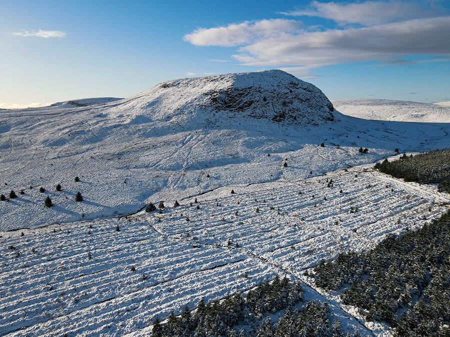 duncolm killpatrick hills mało znane góry w szkocji