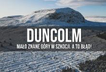 Duncolm i Loch Humphrey pośród Killpatrick Hills