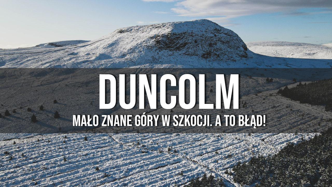 duncolm mało znane góry w szkocji