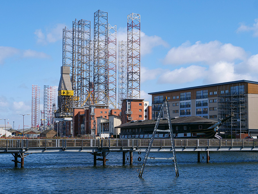 Dundee City Quay atrakcje co zobaczyć