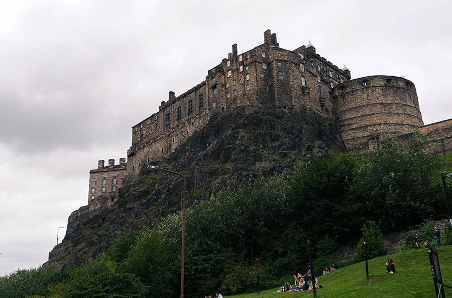 z czego znana jest Szkocja zamki w Szkocji