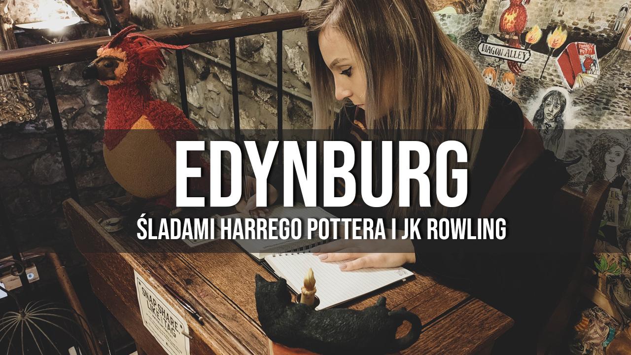 Edynburg Harry Potter i JK Rowling zwiedzanie śladami