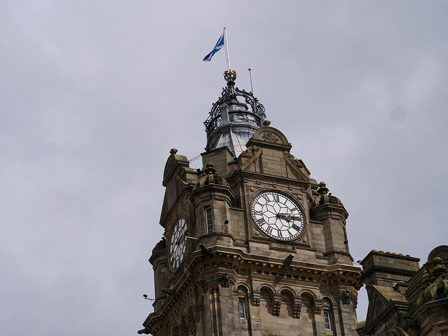 Tajemniczy zegar - mało znane fakty o Edynburgu Balmoral Clock