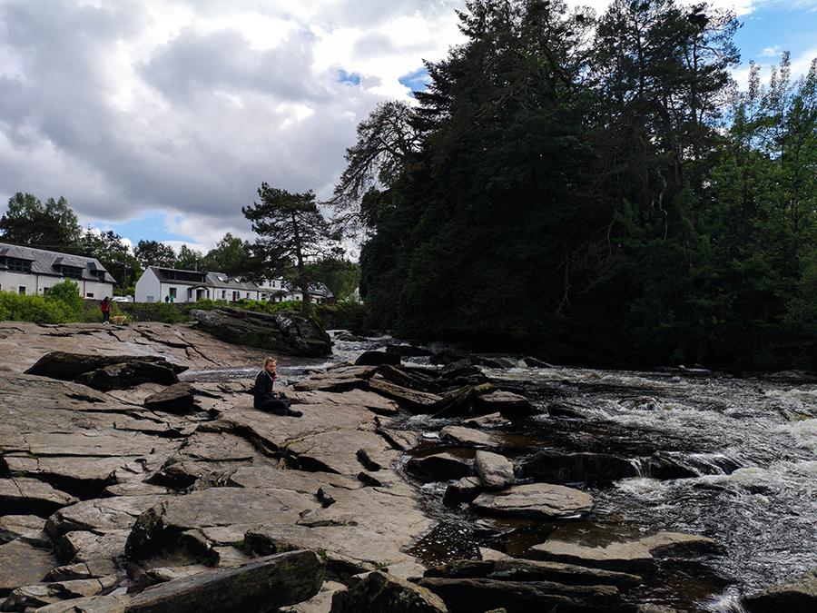 Falls of Dochart szkocja