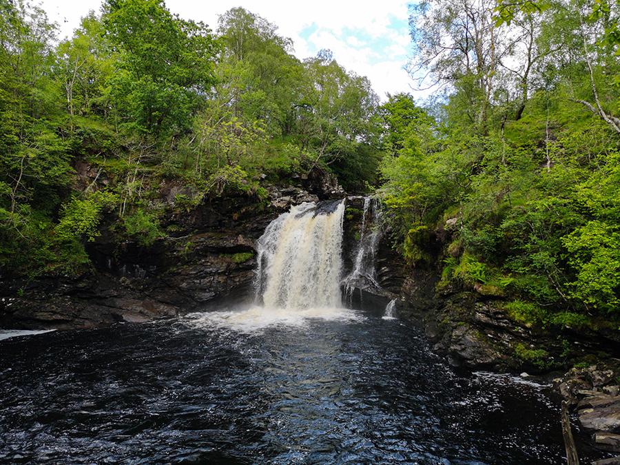 falls of falloch szkocja