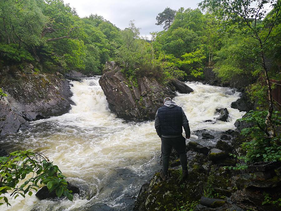 fall of leny wodospady loch lomond atrakcje