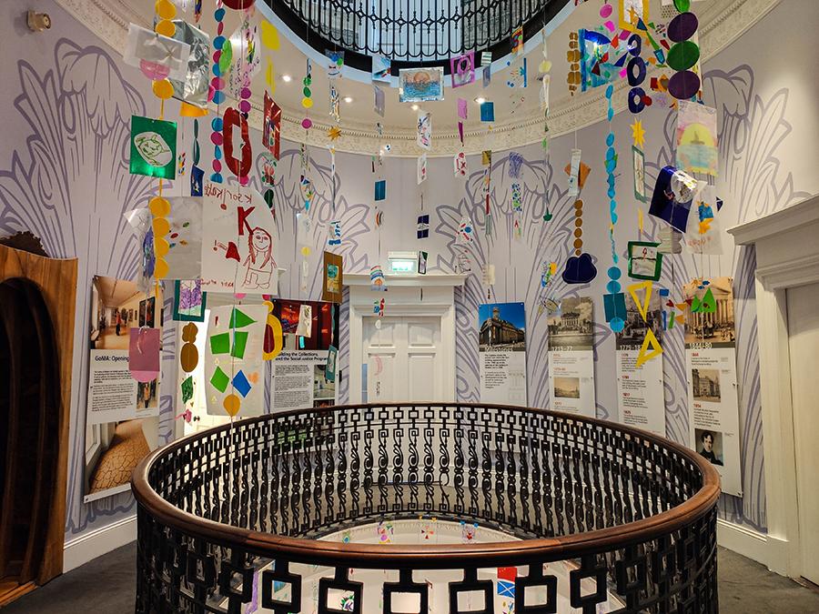 glasgow atrakcje gallery of modern art goma