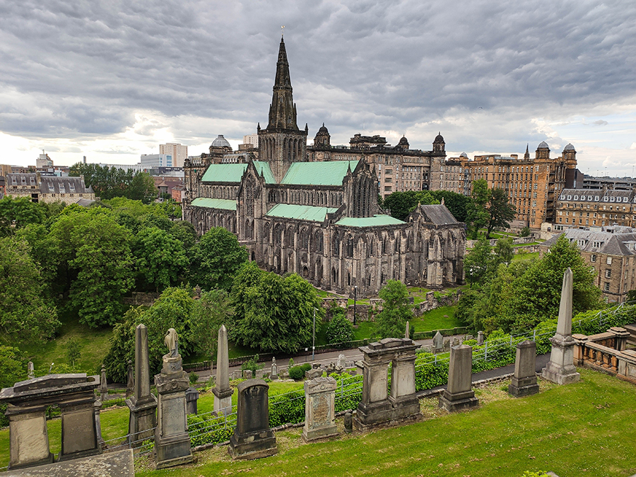 glasgow atrakcje the necropolis