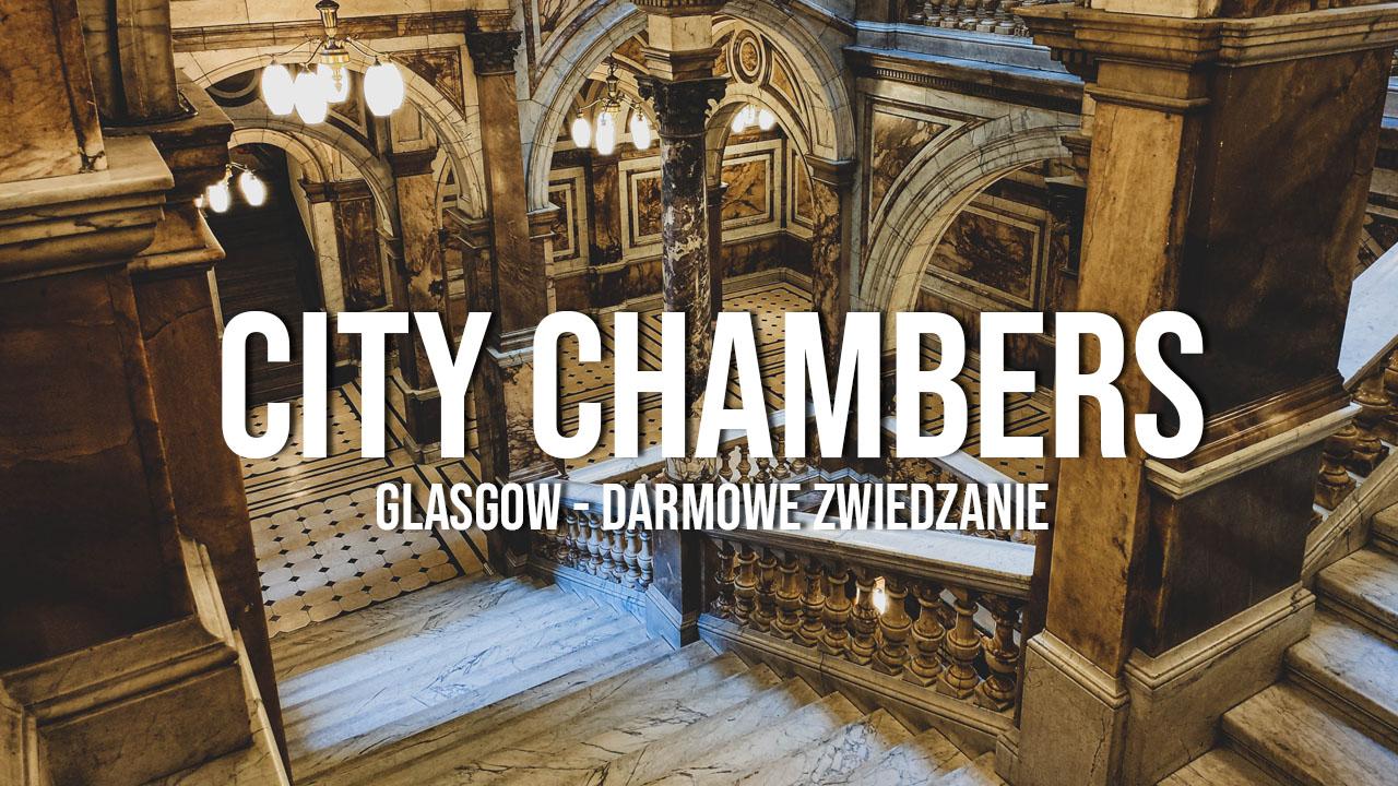 glasgow city chambers atrakcje co zobaczyć zwiedzanie darmowe