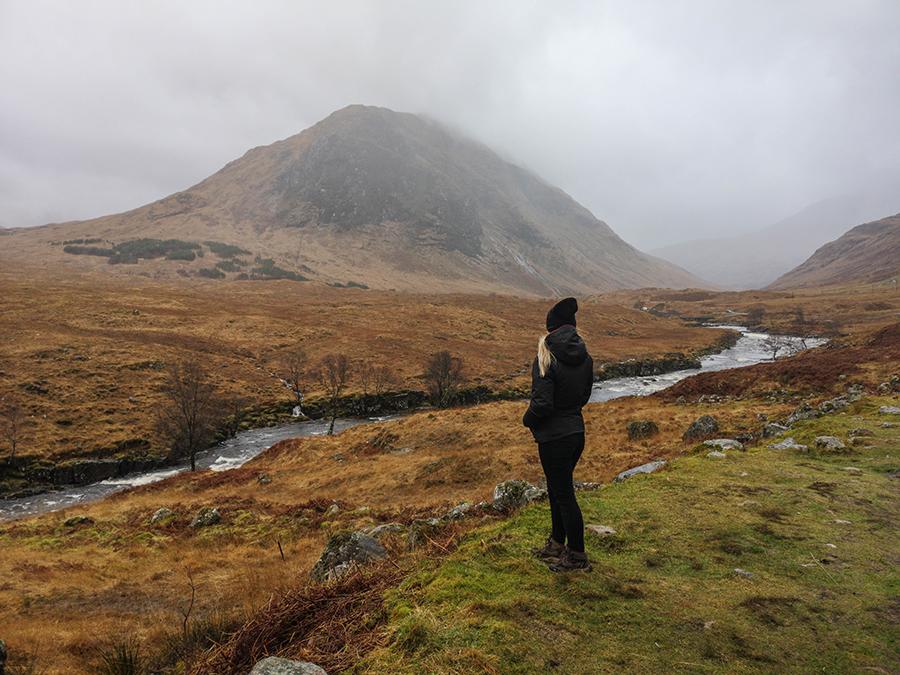 glen etive szkocja