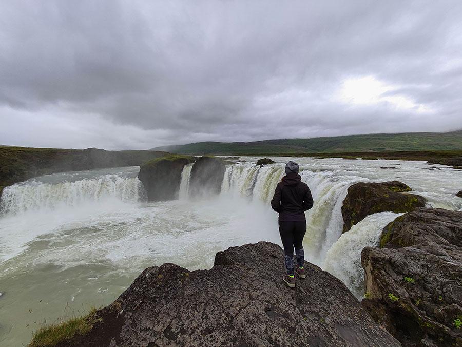 godafoss wodospad islandia