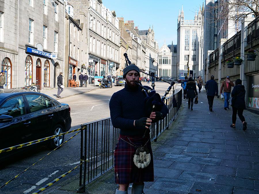 dudy w szkocji i kilt