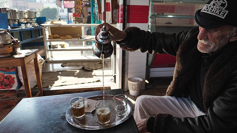 herbata marokańska ad dżadida